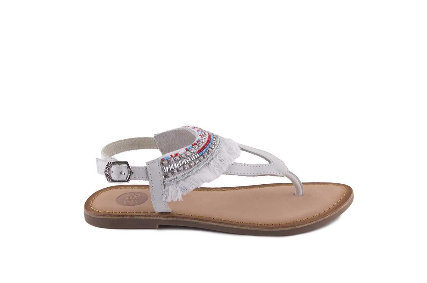 2f012cc06 Comprar zapato tipo JOVEN NIÑA estilo SANDALIA COLOR BLANCO PIEL ...
