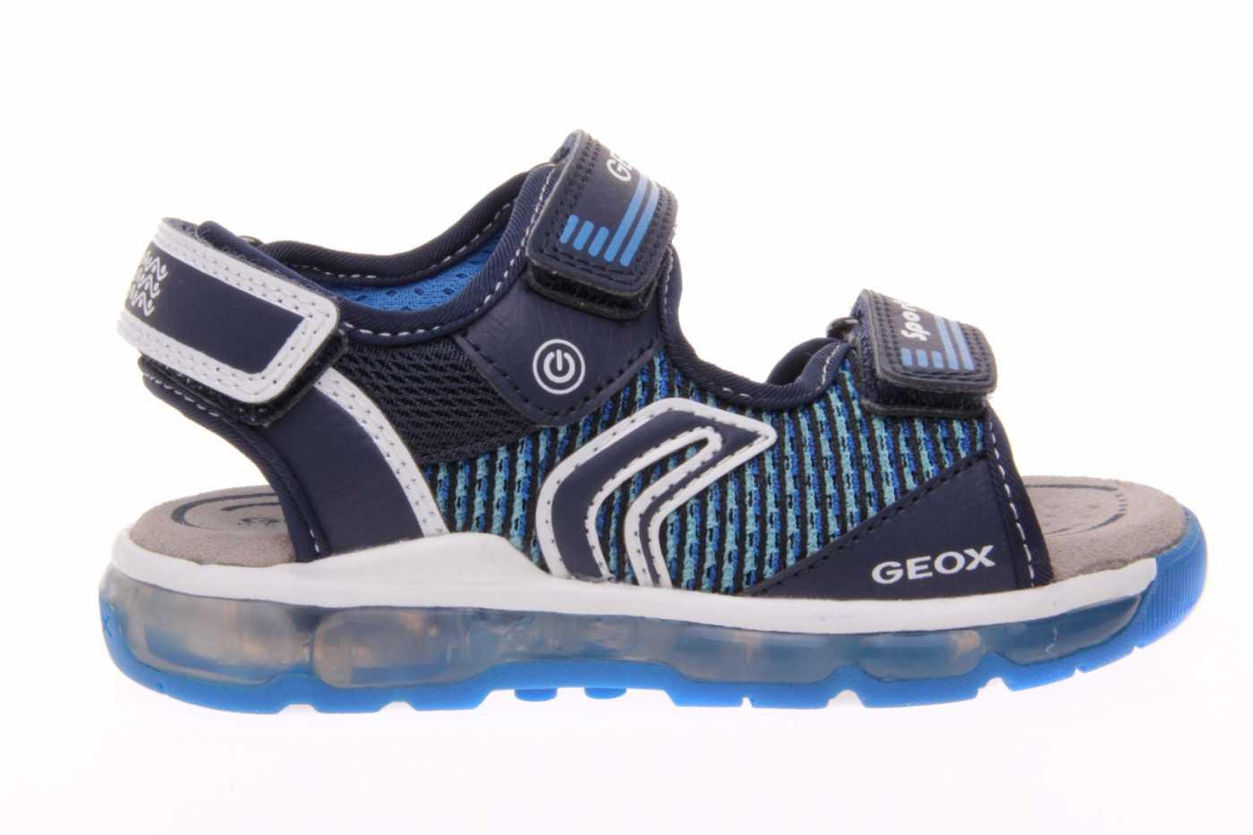 Resonar giratorio corrupción  Comprar zapato GEOX para JOVEN NIÑO estilo SANDALIA color AZUL MARINO PIEL