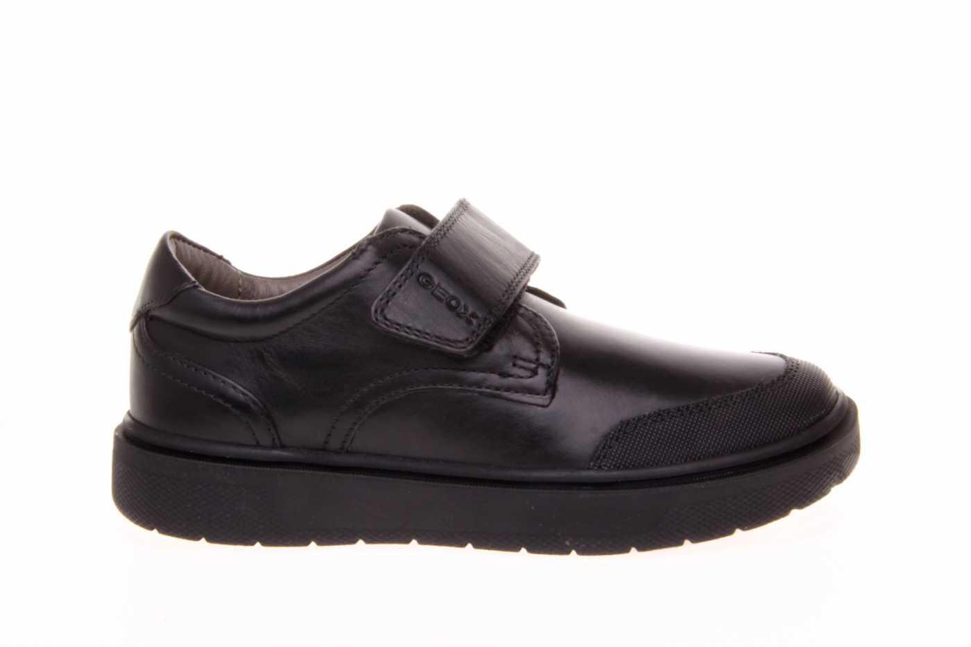 Tropical Auroch orientación  Comprar zapato GEOX para JOVEN NIÑO estilo BLUCHER color NEGRO PIEL