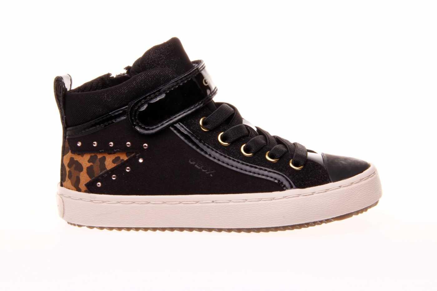 angustia Matemáticas Montaña Kilauea  Comprar zapato GEOX para JOVEN NIÑA estilo BOTINES-BOTA ALTA color NEGRO  PIEL