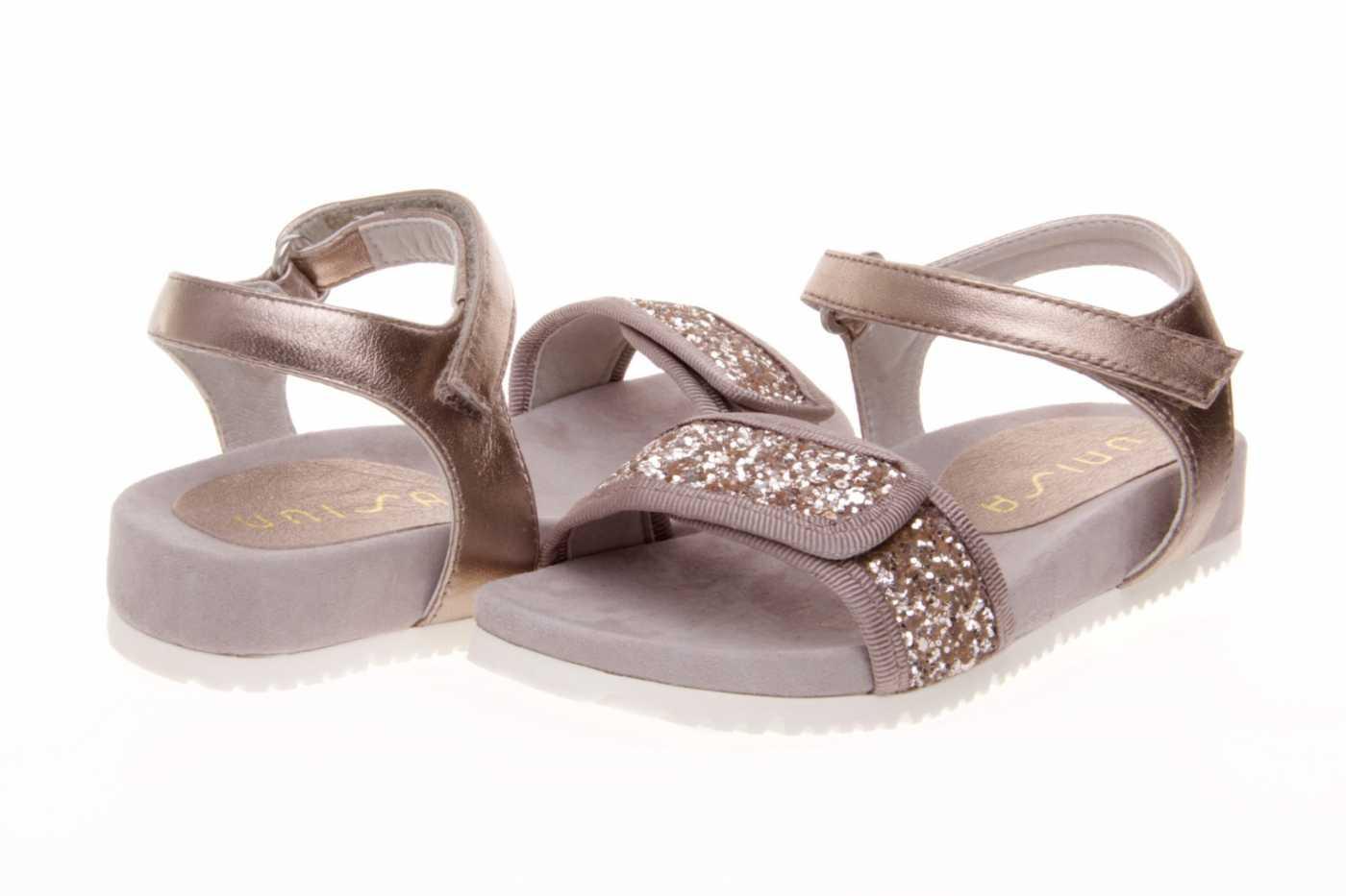 4915d8c40 Comprar zapato tipo JOVEN NIÑA estilo SANDALIA COLOR ORO GLITTER ...