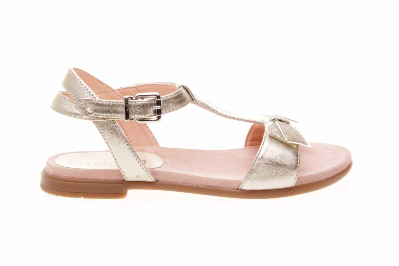6699a4d2d Comprar zapato tipo JOVEN NIÑA estilo SANDALIA COLOR ORO METALIZADO ...