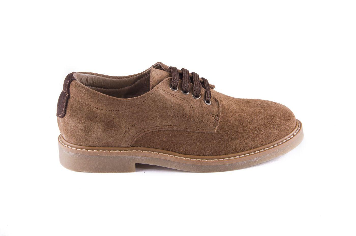 d80204eba98 Comprar zapato tipo JOVEN NIÑO estilo BLUCHER COLOR CAMEL PIEL ...